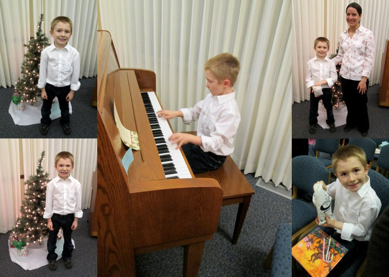 Jack's Piano Recital